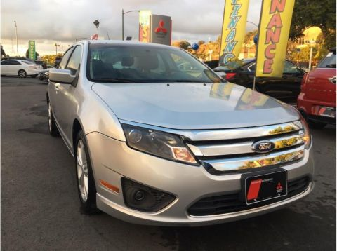 Pre-Owned 2012 Ford Fusion SE Sedan 4D